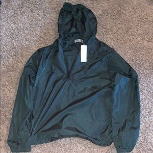 Vince Forest Green Rain Jacket size XL